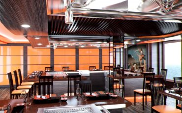 MSC Meraviglia מסעדות מפוארות