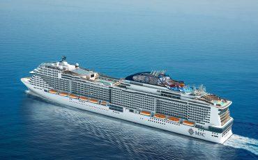 פסח בים התיכון מברצלונה בספינה החדשה Meraviglia