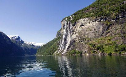 עגינת הקרוז בנורווגיה