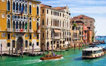 תחילת הקרוז בוונציה