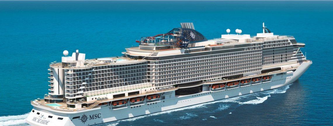 MSC Seaside הספינה שהיא הישג טכנולוגי ונוחות בקרוזים