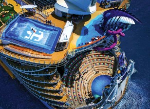 קרוז לאירופה בספינה royal caribbean oasis