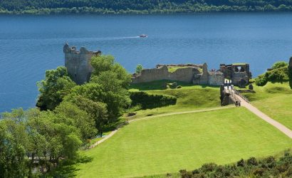 קרוז לאיים הבריטיים United Kingdom, from Invergordon - Urquhart Castle at Loch Ness