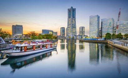 Japan, Yokohama - Minato Mirai waterfront קרוז ליפן