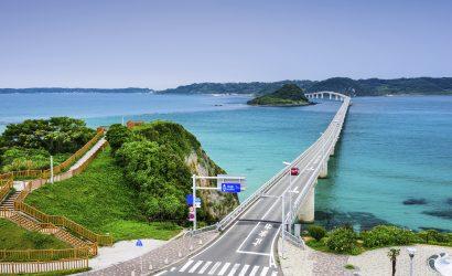 קרוז ליפן - Japan, Shimonoseki - Tsunoshima Ohashi Bridge