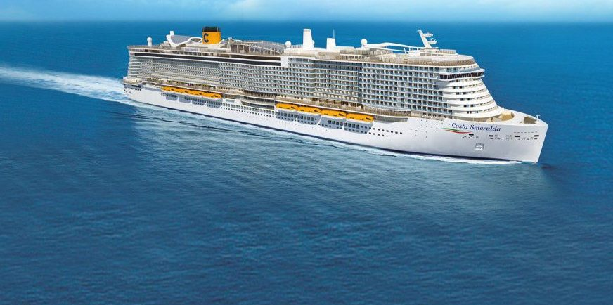 שייט תענוגות 8 לילות עם הספינה Costa Smeralda